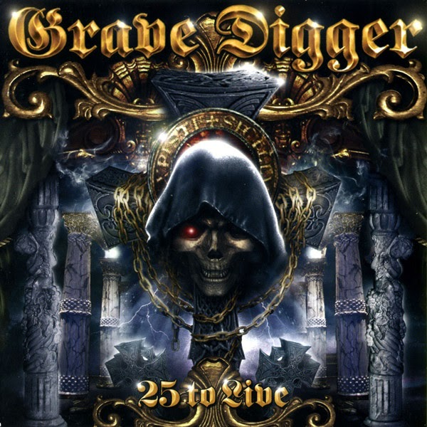 Grave Digger — 25 to Live (2005)