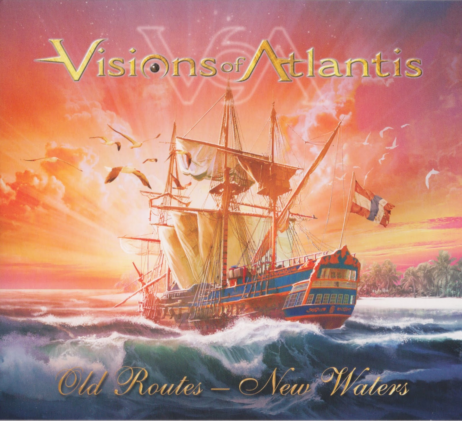 Visions of Atlantis — Old Routes – New Waters EP (2016)