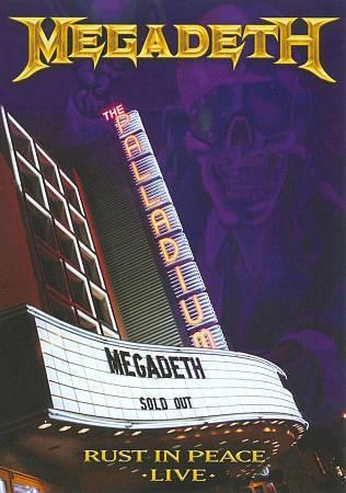 Megadeth — Rust In Peace Live DVD (2010)