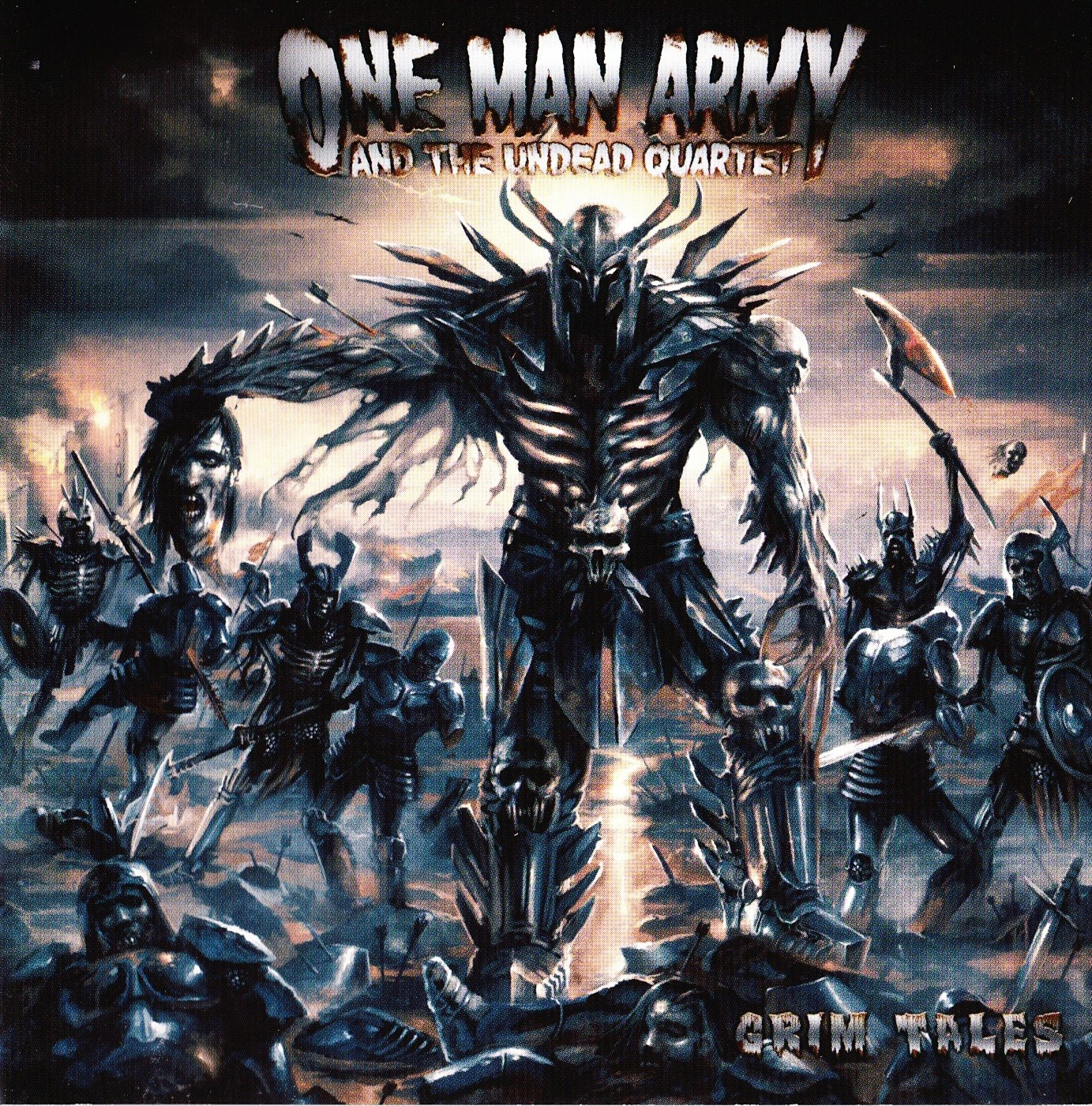 One Man Army and The Undead Quartet — Grim Tales (2008)