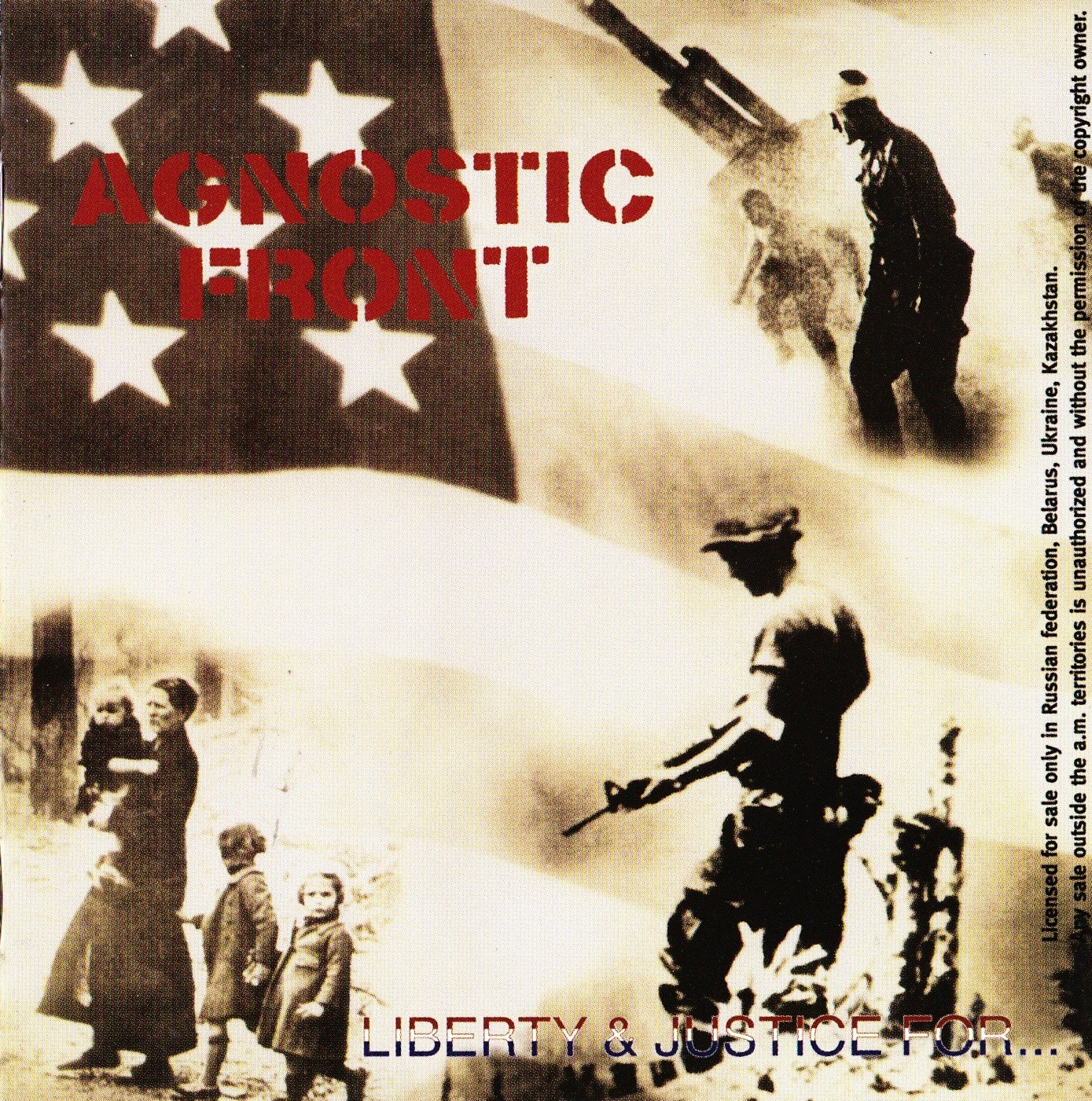 Agnostic Front — Liberty & Justice For… (1987)
