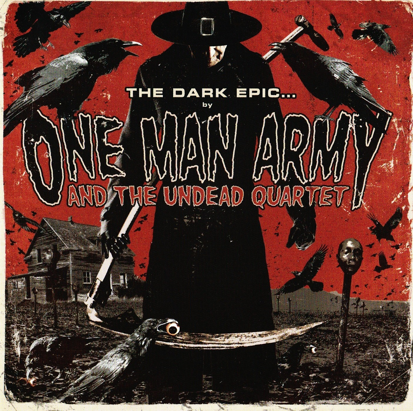 One Man Army and The Undead Quartet — The Dark Epic… (2011)
