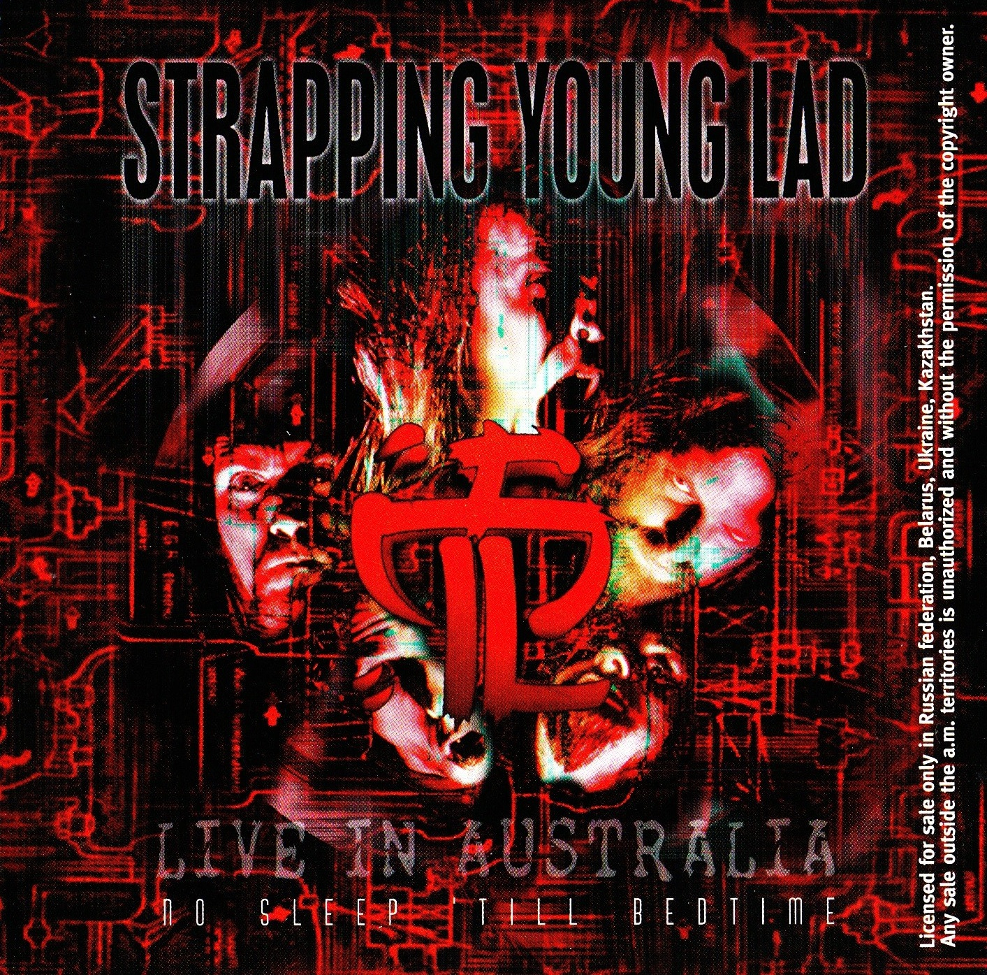 Strapping Young Lad — No Sleep 'Till Bedtime — Live In Australia '98