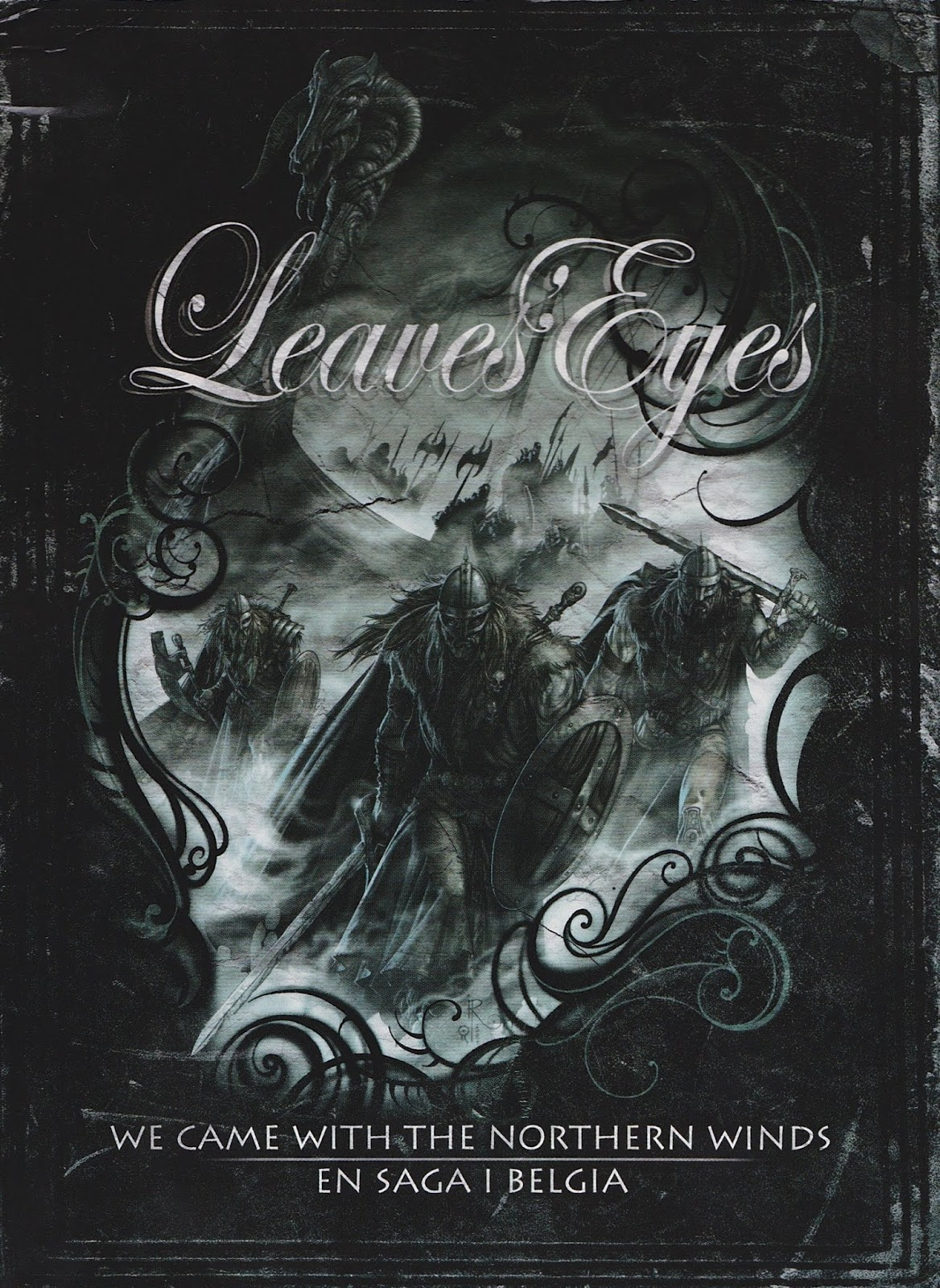 Leaves' Eyes — We Came With The Northern Winds — En Saga I Belgia (2009)