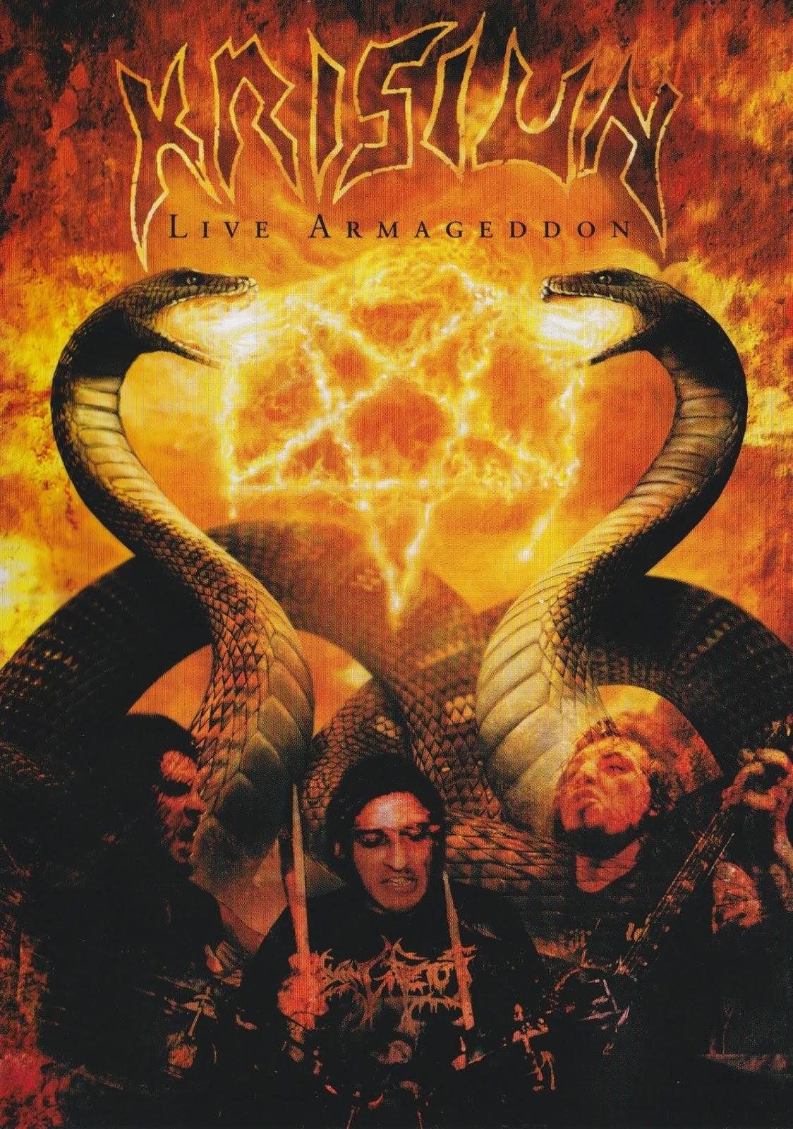 Krisiun — Live Armageddon DVD (2005)