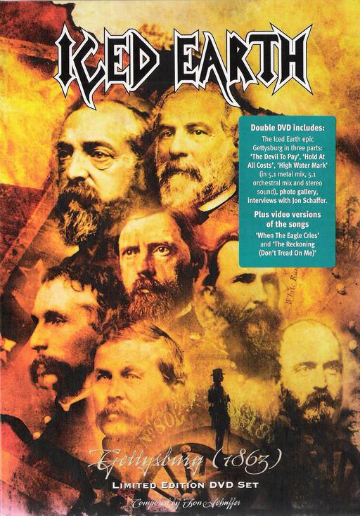 Iced Earth — Gettysburg (1863) DVD (2005)