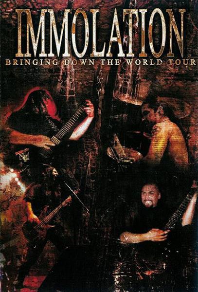 Immolation — Bringing Down the World DVD (2004)