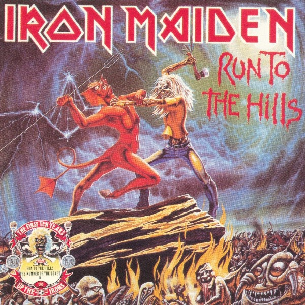 Iron Maiden — Run To The Hills — The Number Of The Beast EP (1990)