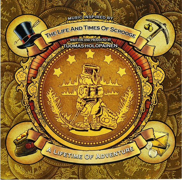 Tuomas Holopainen — A Lifetime of Adventure CDS (2014)