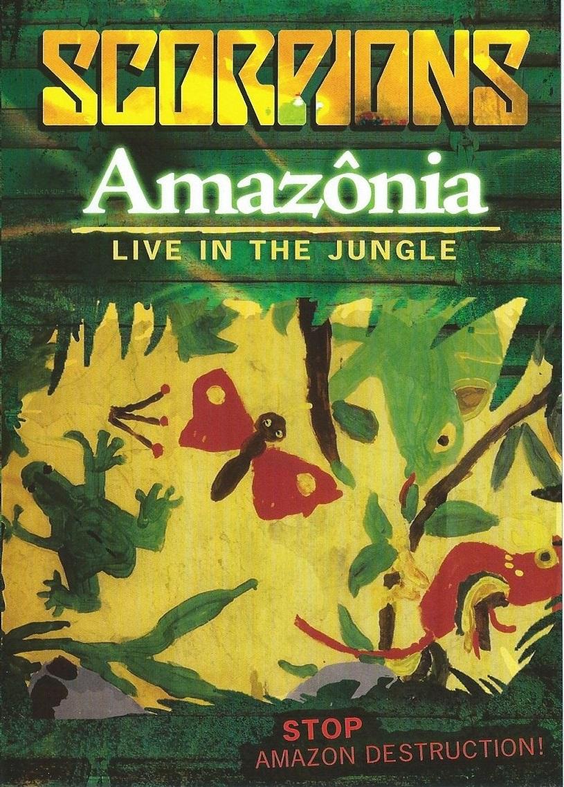 Scorpions — Amazônia — Live in the Jungle (2009)