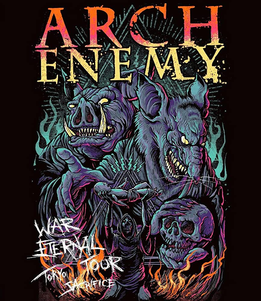 Arch Enemy — War Eternal Tour: Tokyo Sacrifice (2016)