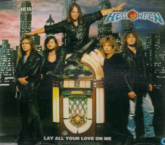 Helloween — Lay All Your Love In Me CDS (1999)