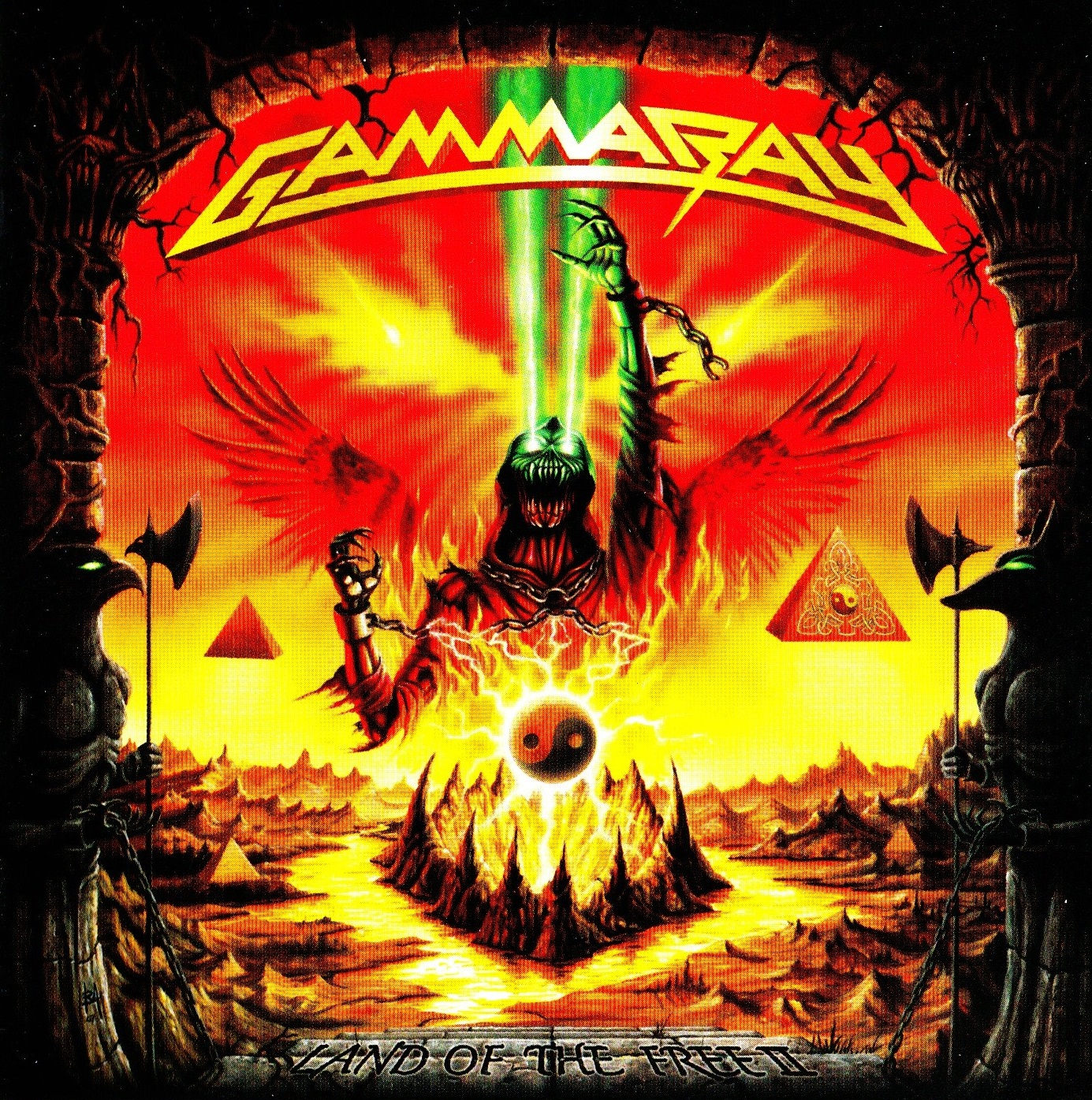 Gamma Ray — Land of the Free II (2007)