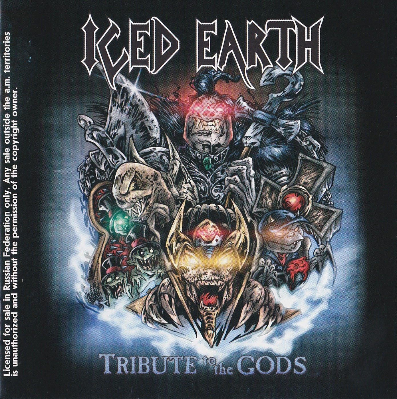 Iced Earth — Tribute to the Gods (2001)