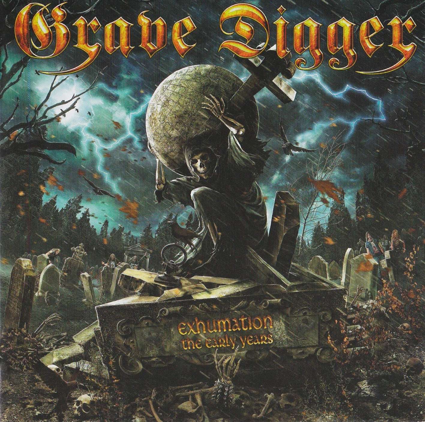 Grave Digger — Exhumation (The Early Years) (2015)