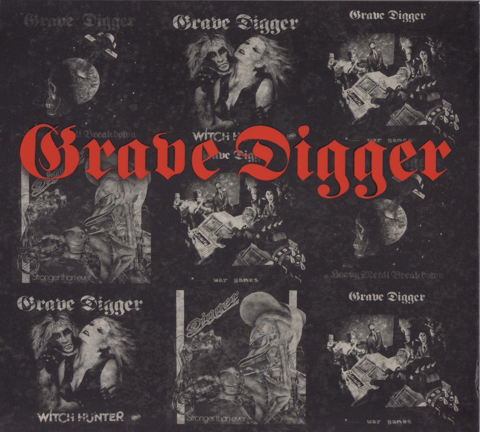 Grave Digger — Let Your Heads Roll — The Very Best of the Noise Years 1984-1986 (2016)