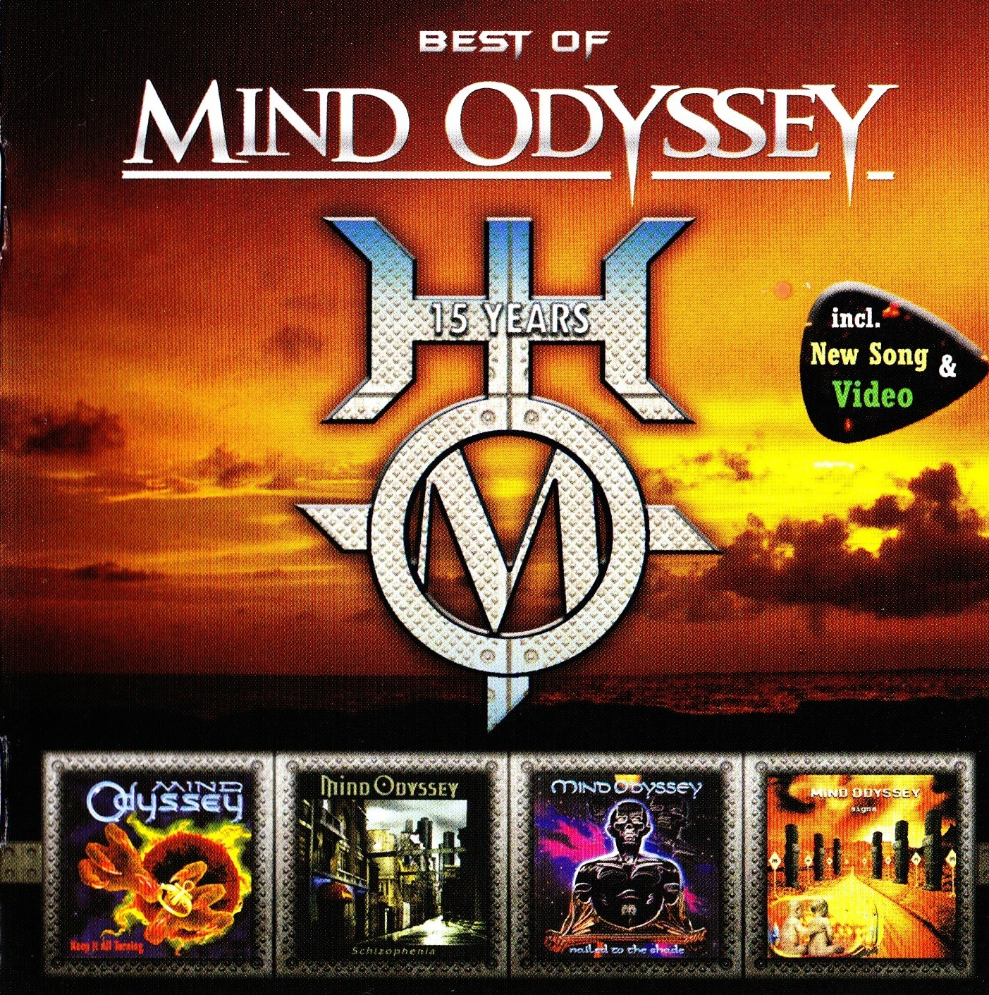 Mind Odyssey — Best Of Mind Odyssey — 15 Years (2008)