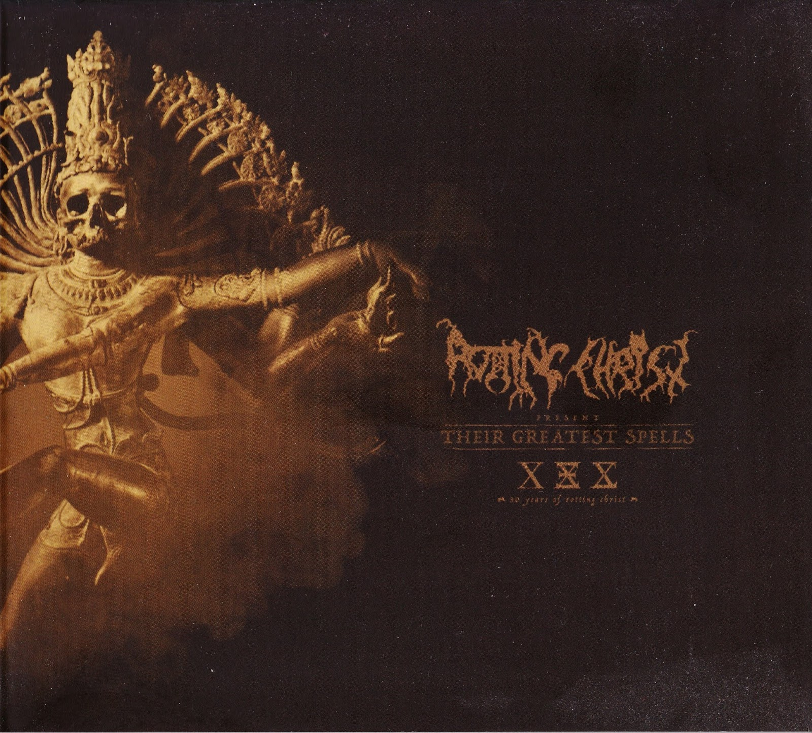 Rotting Christ — Their Greatest Spells: 30 Years of Rotting Christ (2018)
