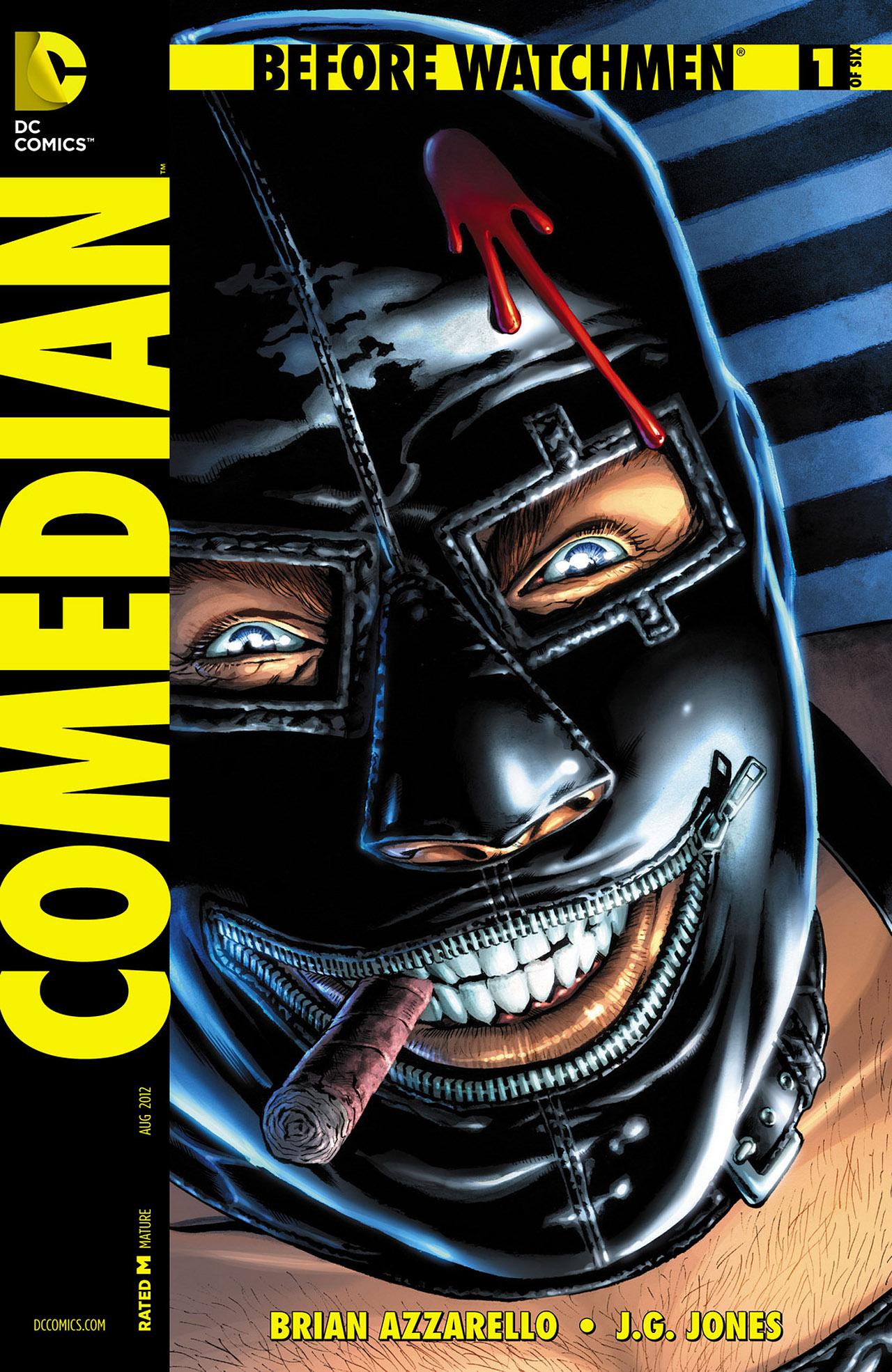 Комикс «Хранители. Начало. Комедиант» (2013)