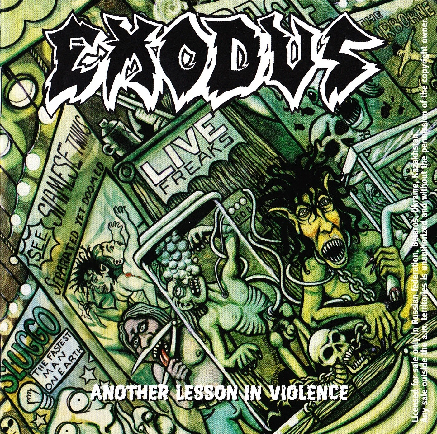 Exodus — Another Lesson In Violence (1993)