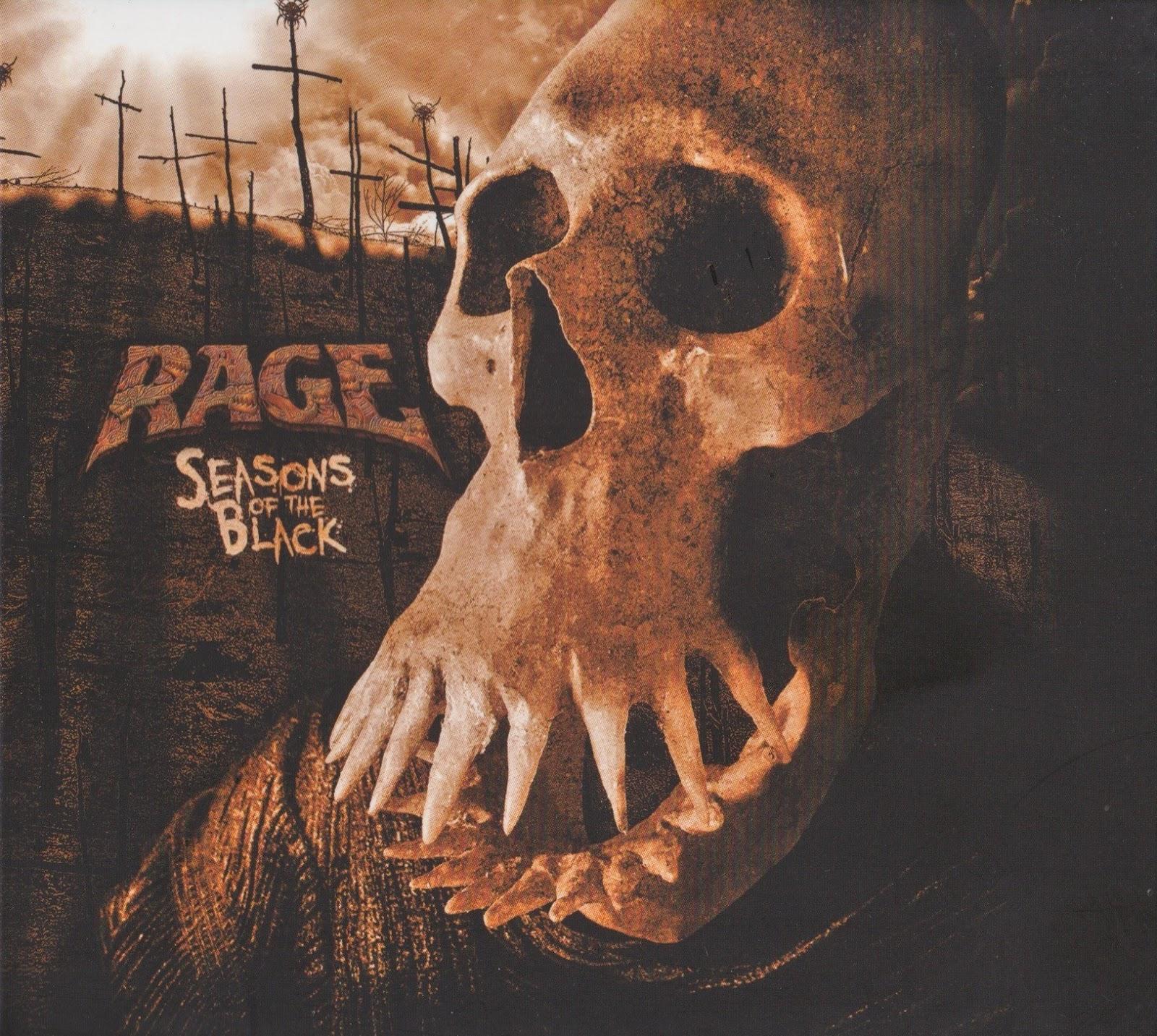 Rage — Seasons Of The Black (2017)