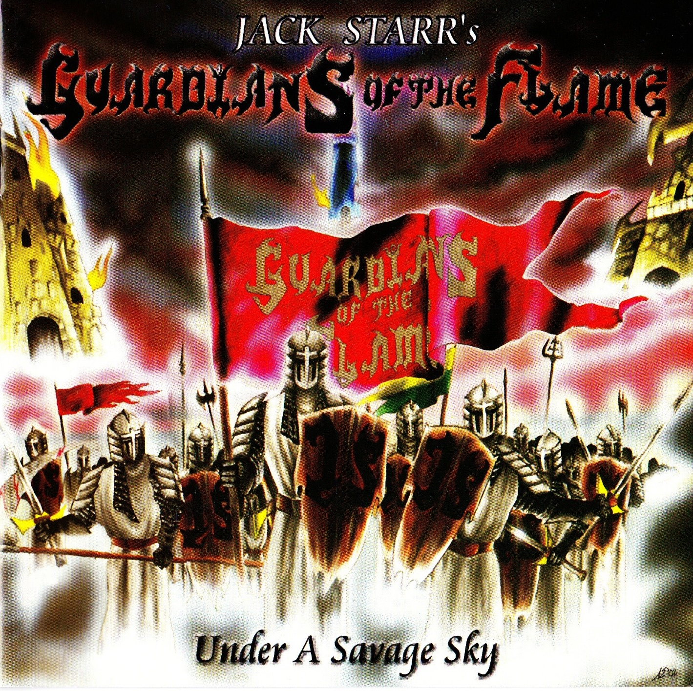 Jack Starr's Guardians Of The Flame — Under A Savage Sky (2003)