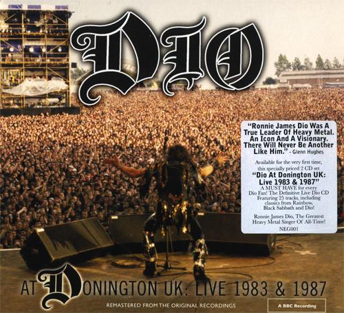 DIO — DIO at Donington UK: Live 1983 & 1987 (2010)