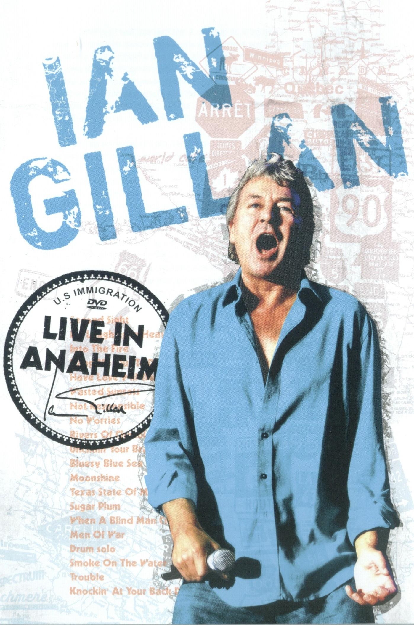 Ian Gillan — Live in Anaheim (2008)