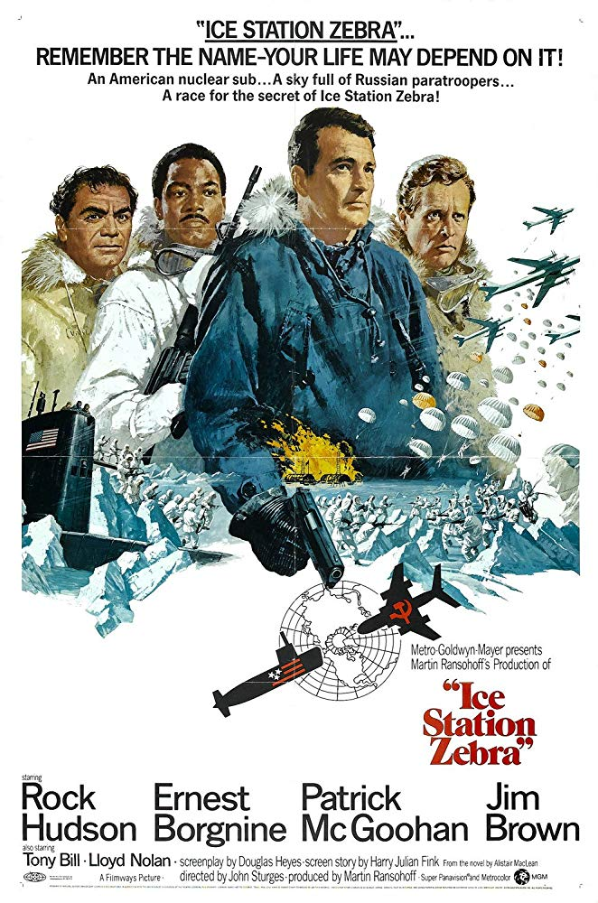 Фильм «Полярная станция «Зебра» (1968)
