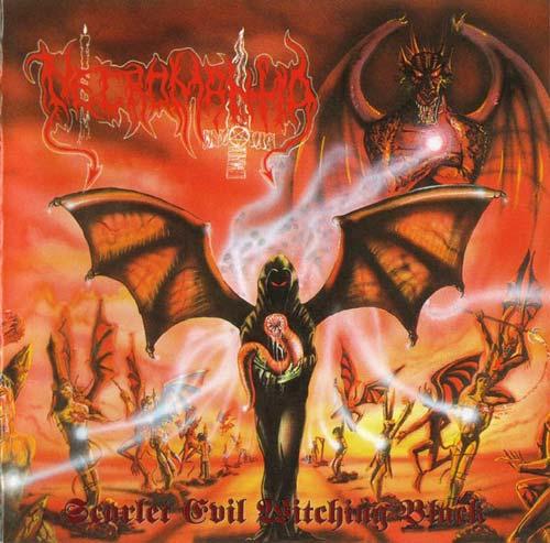 Necromantia — Scarlet Evil Witching Black (1995)