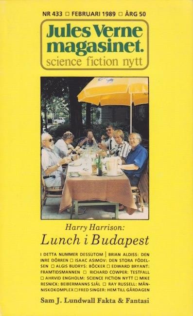 Гарри Гаррисон — Обед в Будапеште (1989)