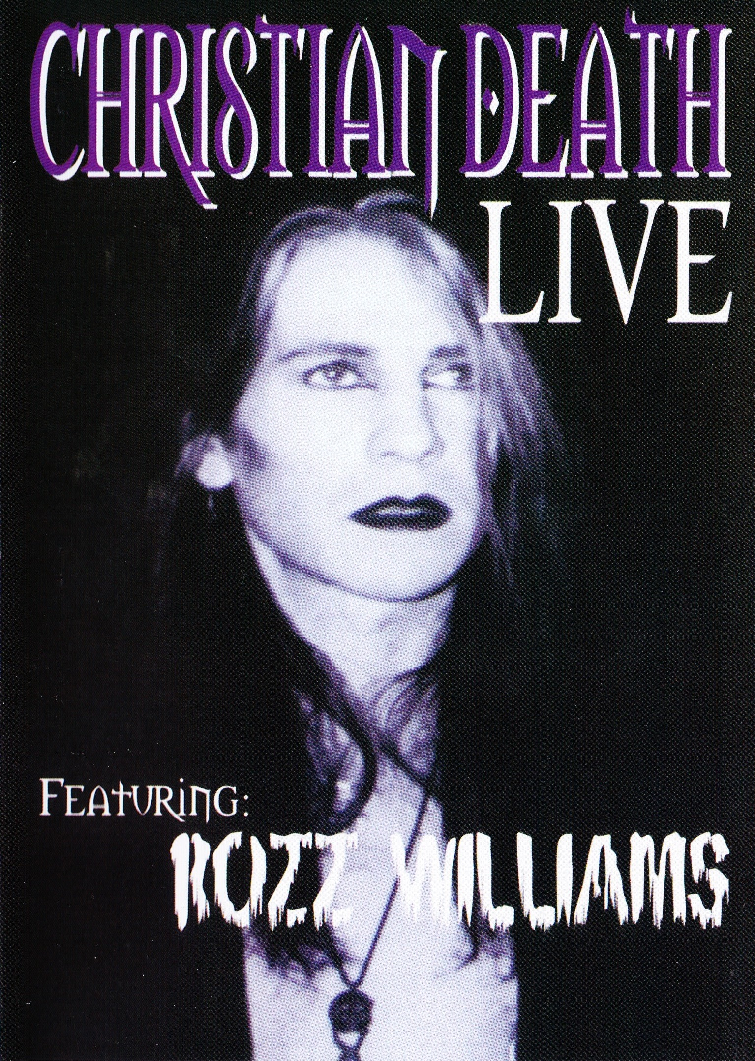 Christian Death feat. Rozz Williams — Live (1995)