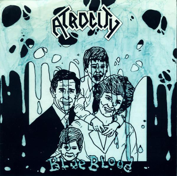 Atrocity — Blue Blood EP (1989)