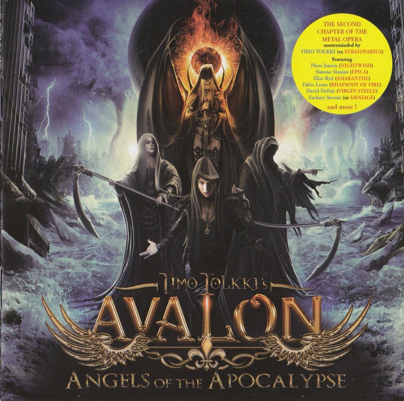 Timo Tolkki's Avalon — Angels of the Apocalypse (2014)