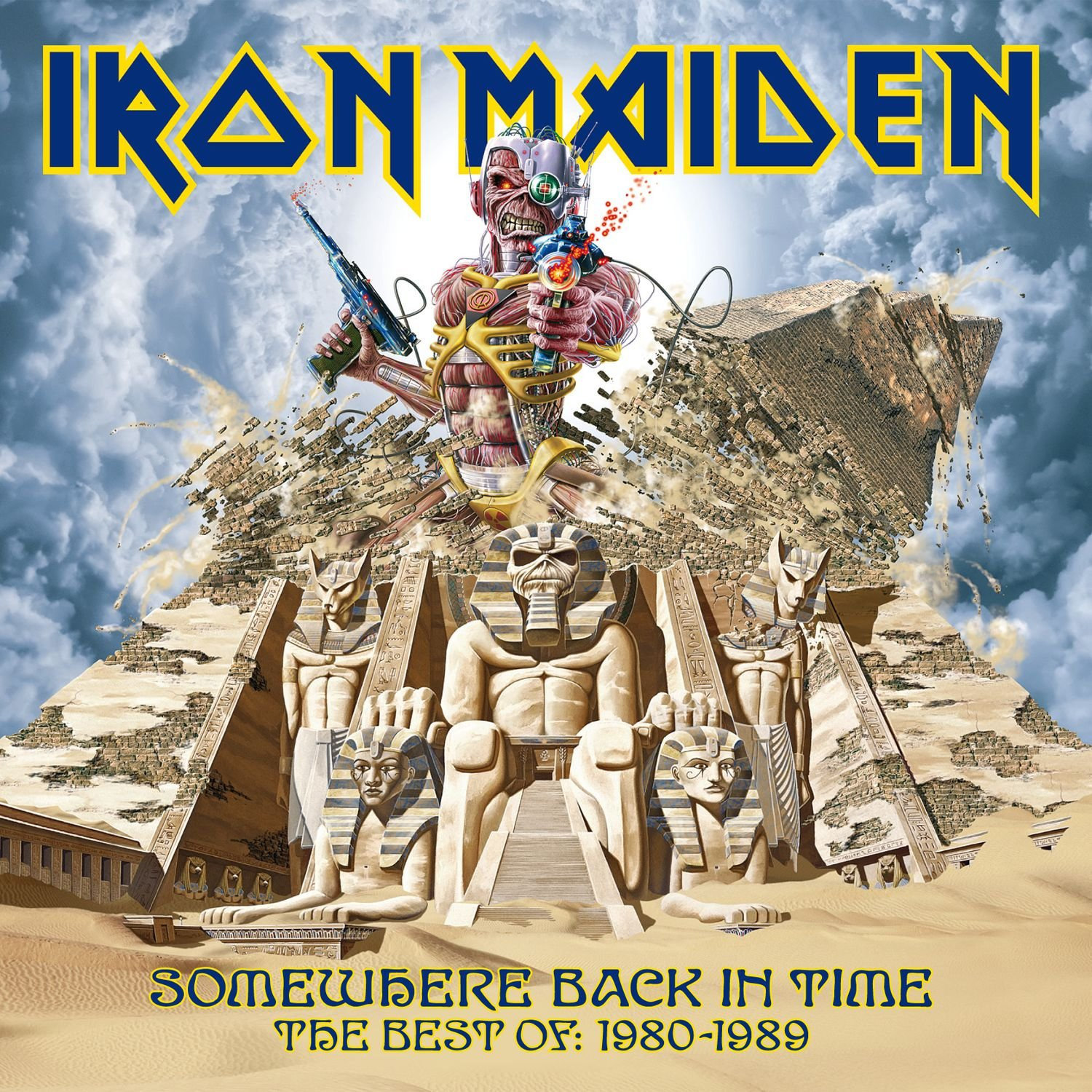 Iron Maiden — Somewhere Back in Time — The Best Of 1980-1989 (2008)