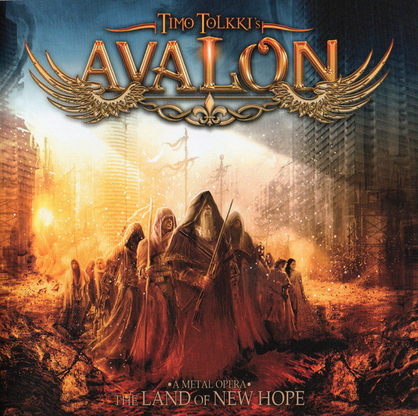 Timo Tolkki's Avalon — The Land Of New Hope — A Metal Opera (2013)