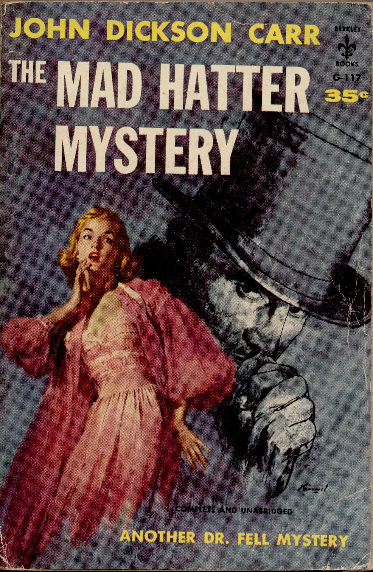 Джон Диксон Карр — Загадка Безумного Шляпника (1933)