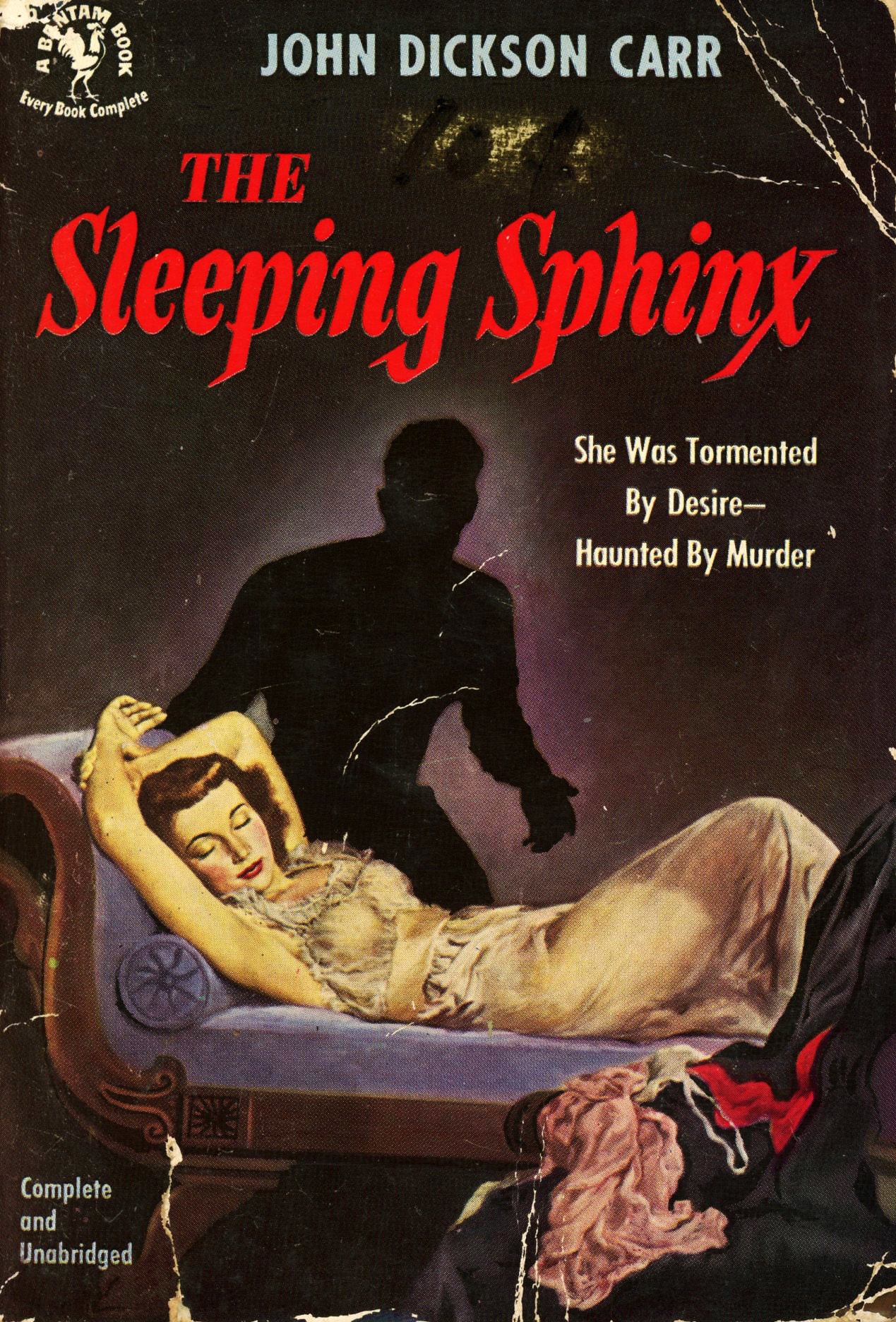 Джон Диксон Карр — Спящий сфинкс (1947)