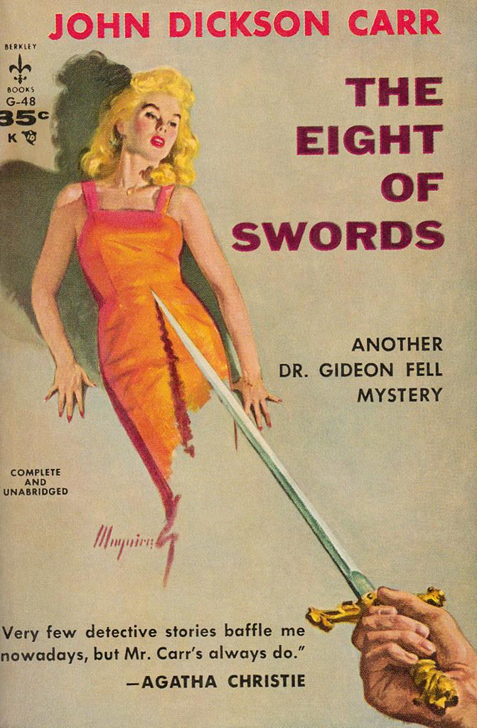 Джон Диксон Карр — Восемь крошечных мечей (1934)