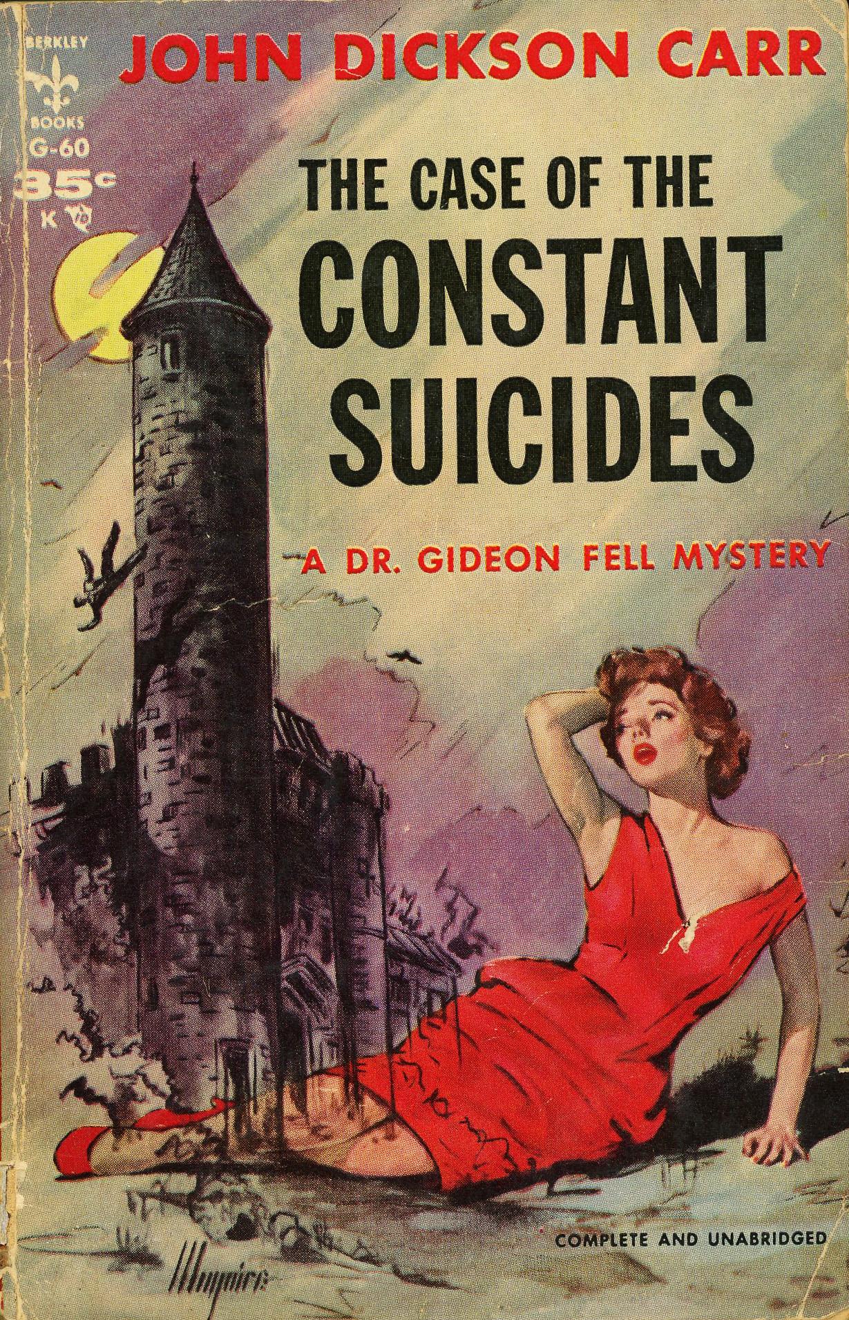 Джон Диксон Карр — Дело о постоянных самоубийствах (1941)