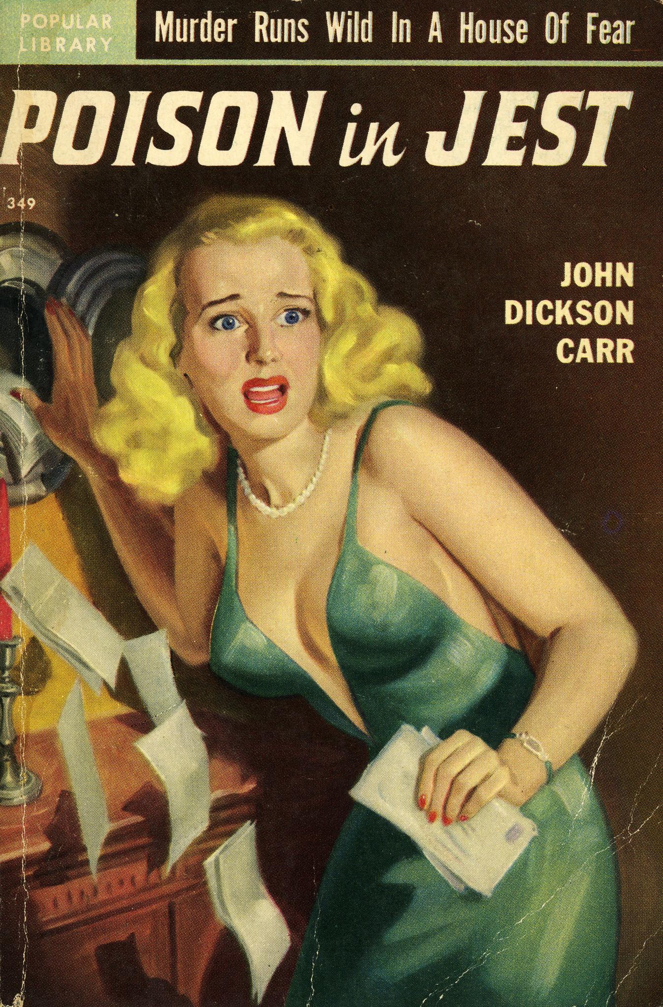 Джон Диксон Карр — Отравление в шутку (1932)