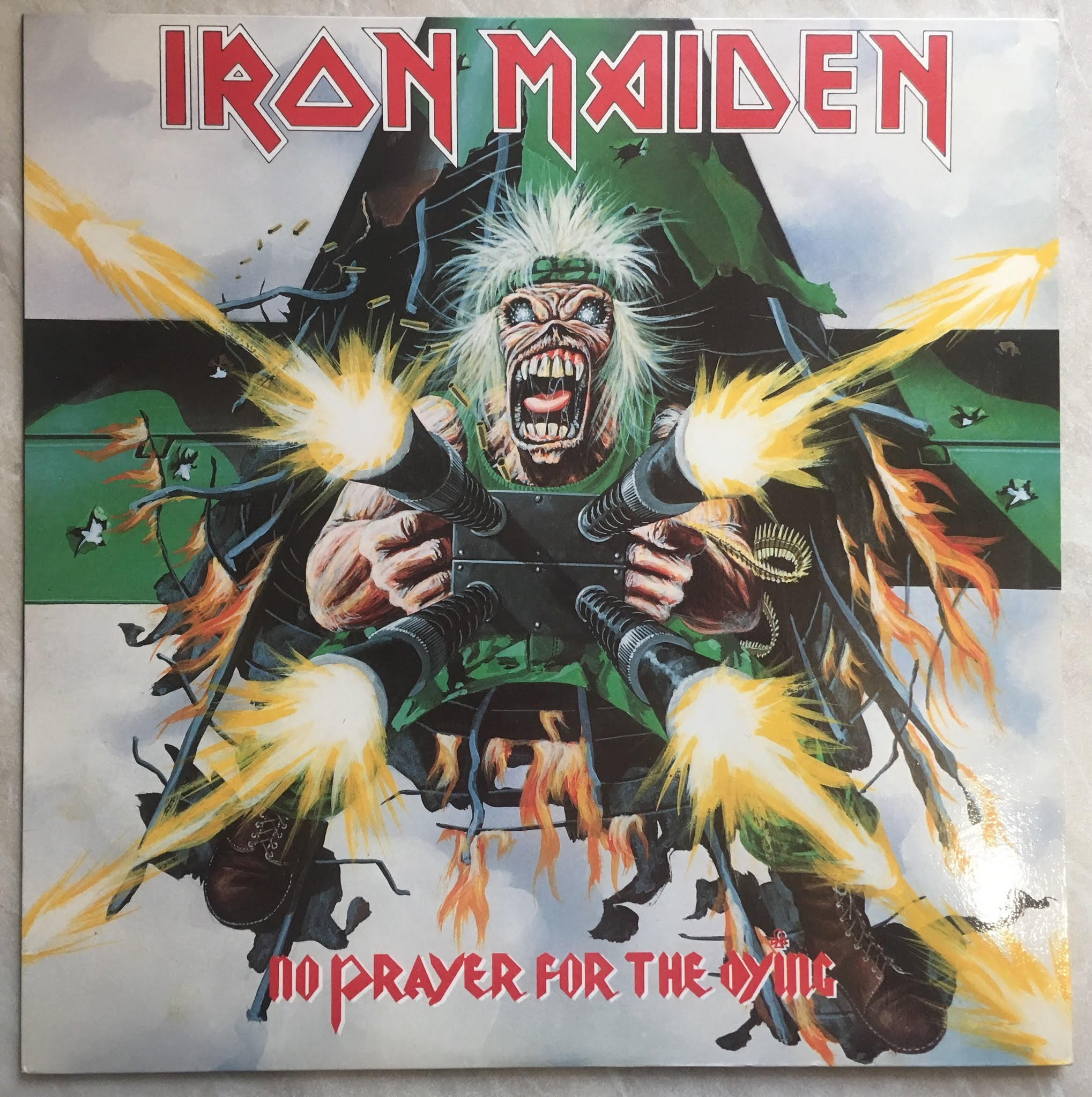 Русский винил «No Prayer for the Dying» Iron Maiden